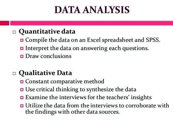 Papers on qualitative and quantitative research