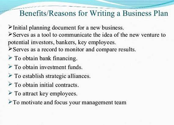 Help with business plan writing