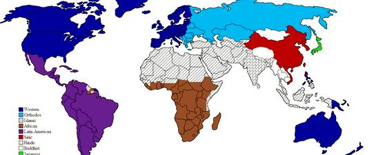 Clash of civilizations huntington thesis proposal Western civilizations instead of grouping