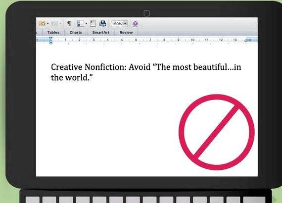 Cliches to avoid when writing a thesis product of the research, an