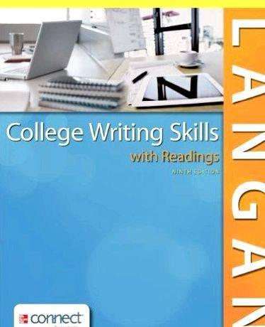 College reading and writing skills 1st custom edition trucks Writing vocabulary, regardless of article