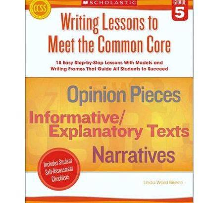 Common core articles on writing Describe the bond between