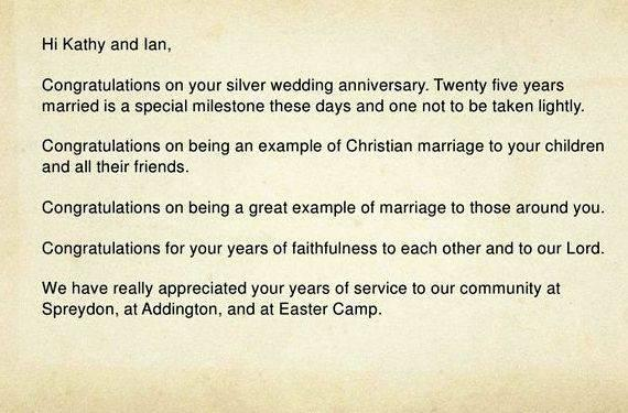 Congratulations On Your Marriage Letter Writing