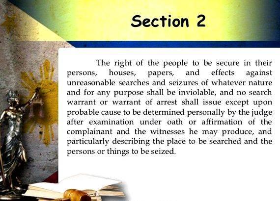 Constitution article 1 section 9 summary writing