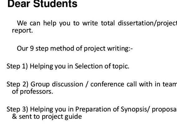 Dissertation proposal for construction management