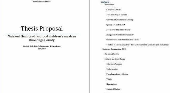 Cover sheet master thesis proposal selected readers, and assigned