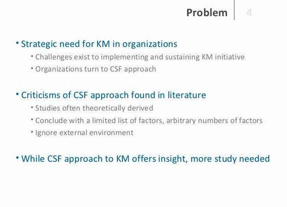 Critical success factors dissertation writing cutting-edge concept and