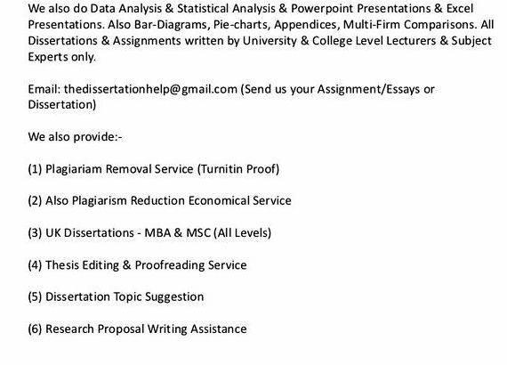 Data analysis discussion dissertation