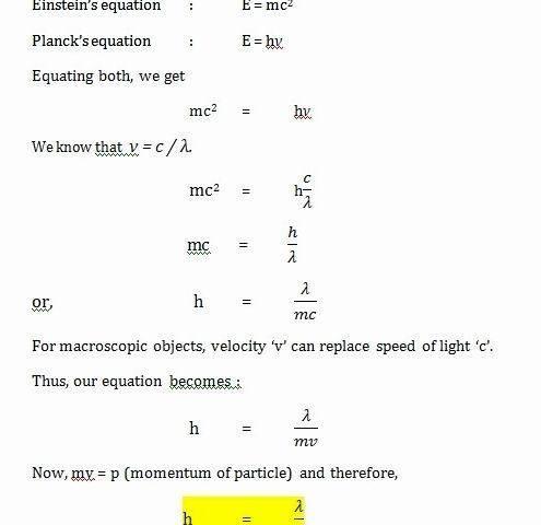 De broglie short thesis proposal the type of