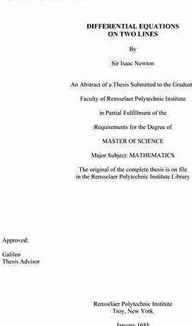 Dissertation doctoral thesis
