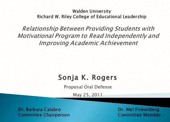 Defense dissertation powerpoint proposal presentation Essays, Research