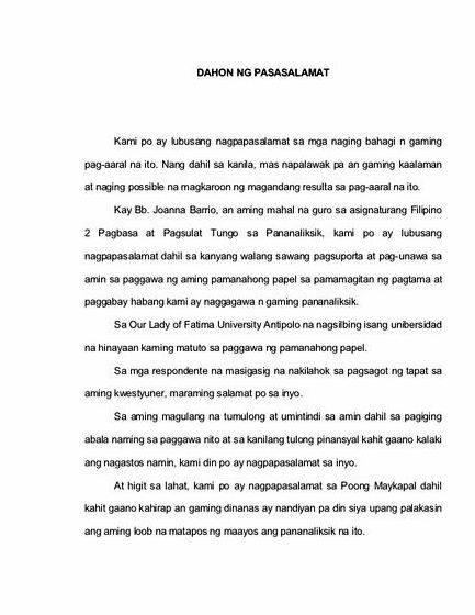 Help with thesis statement kahulugan ng
