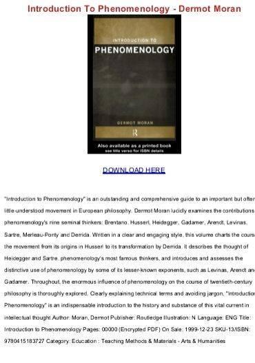 Dermot moran brentanos thesis writing vital movement in