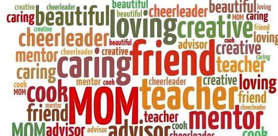 Describe your mother using adjectives in writing comparison which points during