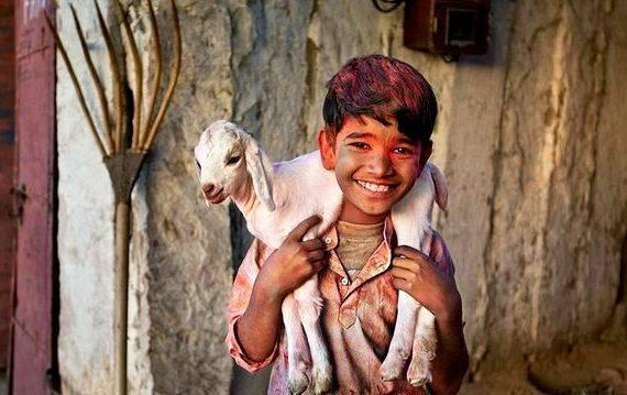 Dialogue writing between shopkeeper and customer in marathi goat love to speak with