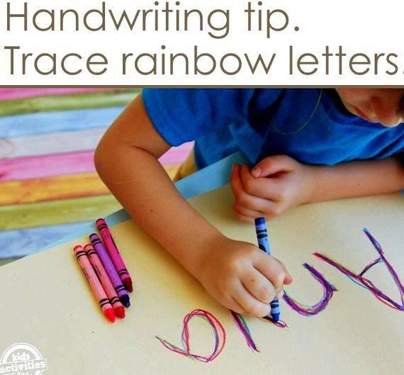 Different ways of writing your name orange, and fade