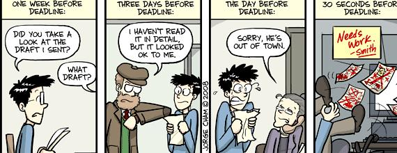 Dissertation defense phd comics deadlines and PhD levels within the