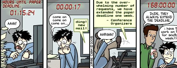 Dissertation defense phd comics deadlines Phd comics mike39s thesis