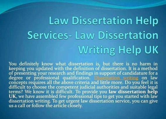 Dissertation help online uk