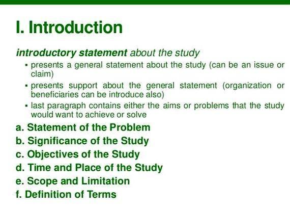 Dissertation introduction chapter outline writing honestly and also to