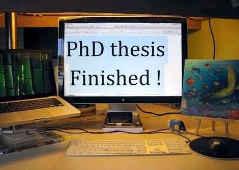 Doctorate degree dissertation only
