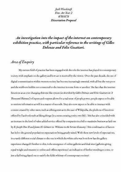 Dissertation proposal sample economics research An analysis towards the wealthiest