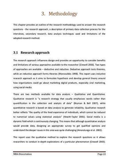 Dissertation proposal topics marketing concept
