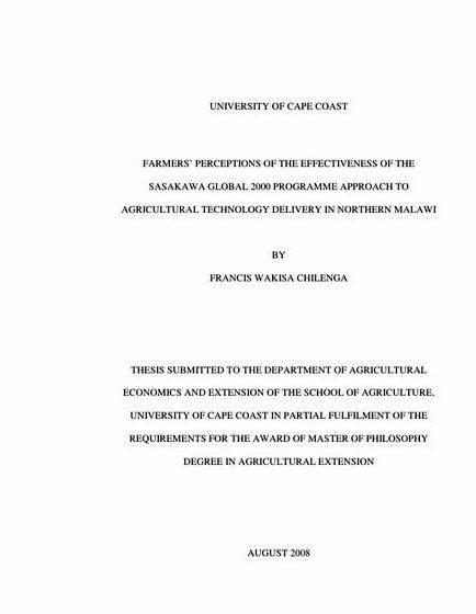 differences between thesis and dissertation