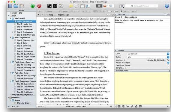 Scrivener | Hacking the Thesis