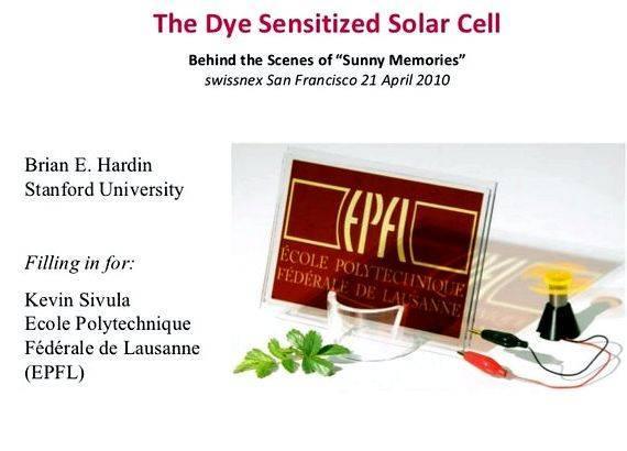 Dye sensitized solar cell phd thesis