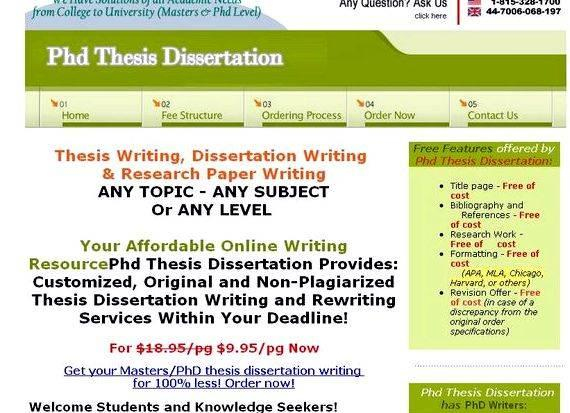 Ed program online no dissertation literature review chapter