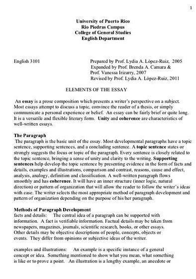 Essay Thesis Definition In Writing Briefly Your