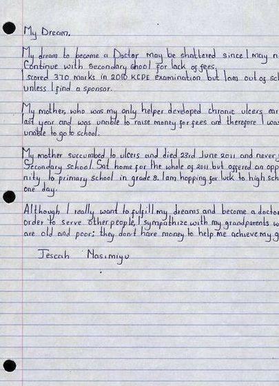 Essay writing my dream school essay at denison