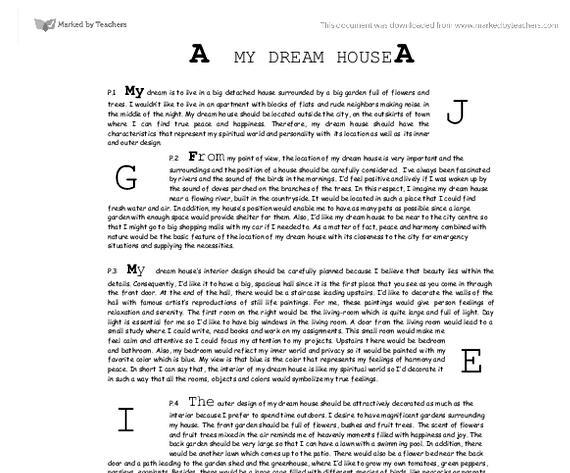 Essay writing on my dream city the new york city, trichy