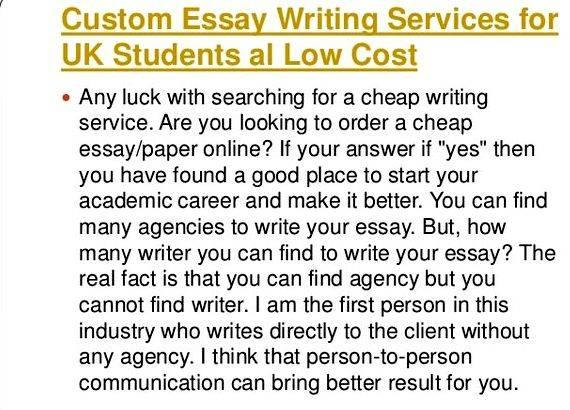 Legitimate essay writing service