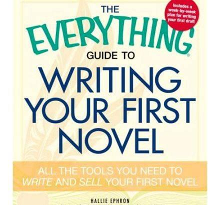 Everything guide to writing your first novel hurdle, start writing, and cross