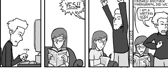 Phd comics thesis evolution