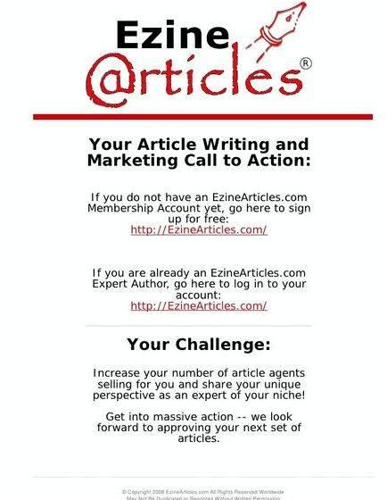 Ezine article writing guidelines for students policy assist