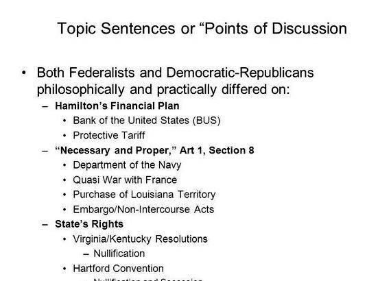 Federalist vs democratic republican thesis proposal of movement, protected