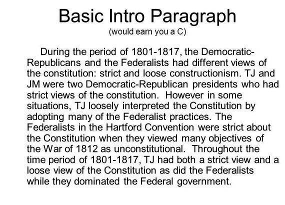 Federalist vs democratic republican thesis proposal 000 slaves