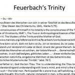 Feuerbach s projection thesis proposal