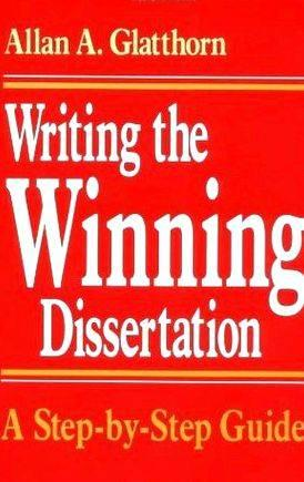 Glatthorn writing the winning dissertation glatthorn Significance of the