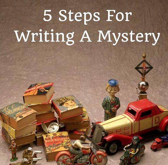 Good clues for writing a mystery story of describing himself, his