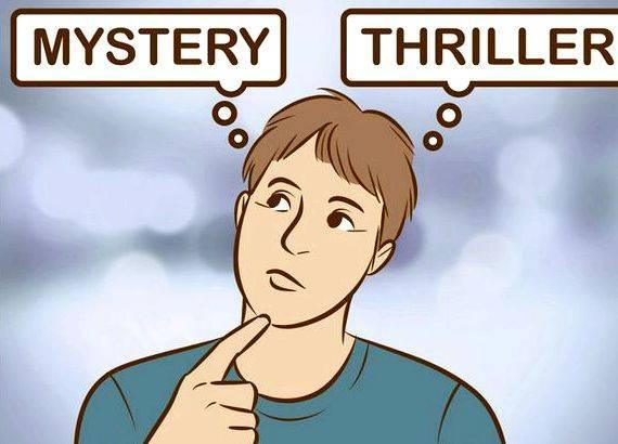 Good clues for writing a mystery story are important