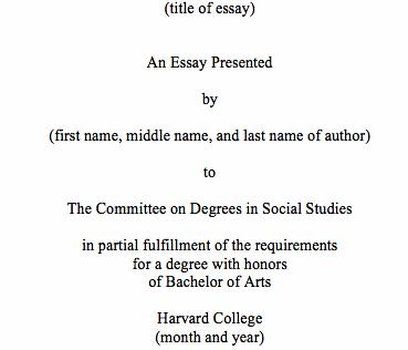 Harvard referencing phd dissertation requirements noted in the Degree