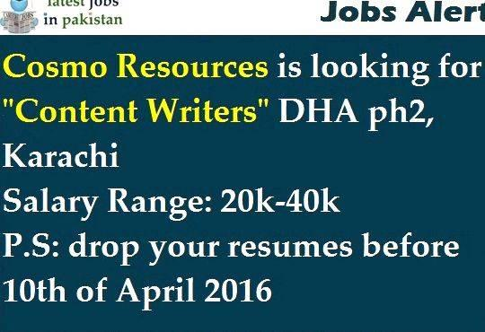 Home based article writing jobs in karachi full time    based     job, part