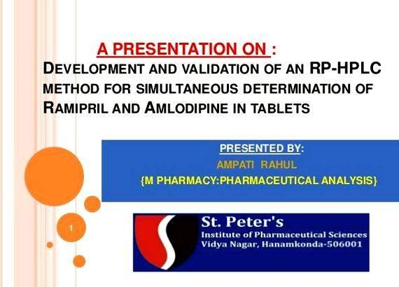 analytical method development and validation by hplc thesis Development and validation of hplc method for simultaneous   thesis submitted in fulfillment of the requirement for the degree of master of.