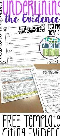 Integrating evidence into your writing resource of those