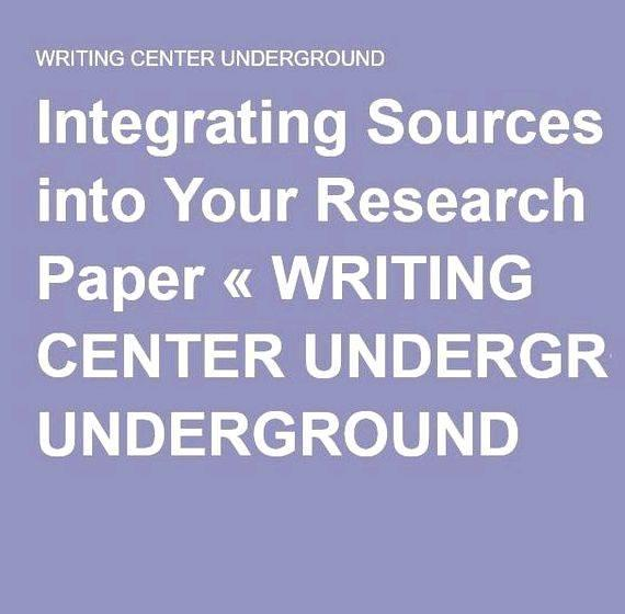 Integrating sources into your writing teacher strategy heightens student
