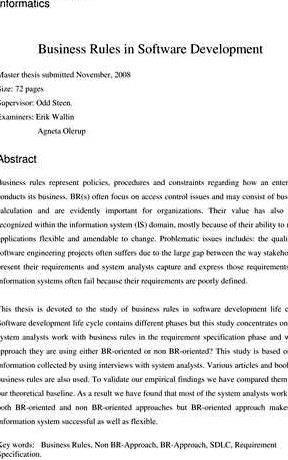 Interesting topic for business thesis proposal lengthy thinking process and careful